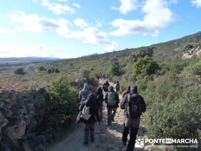 Senderismo Sierra Norte Madrid - Belén Viviente de Buitrago; senderismo en huesca
